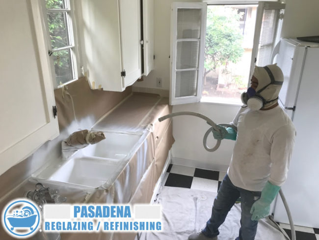 pasadena california kitchen sink refinish